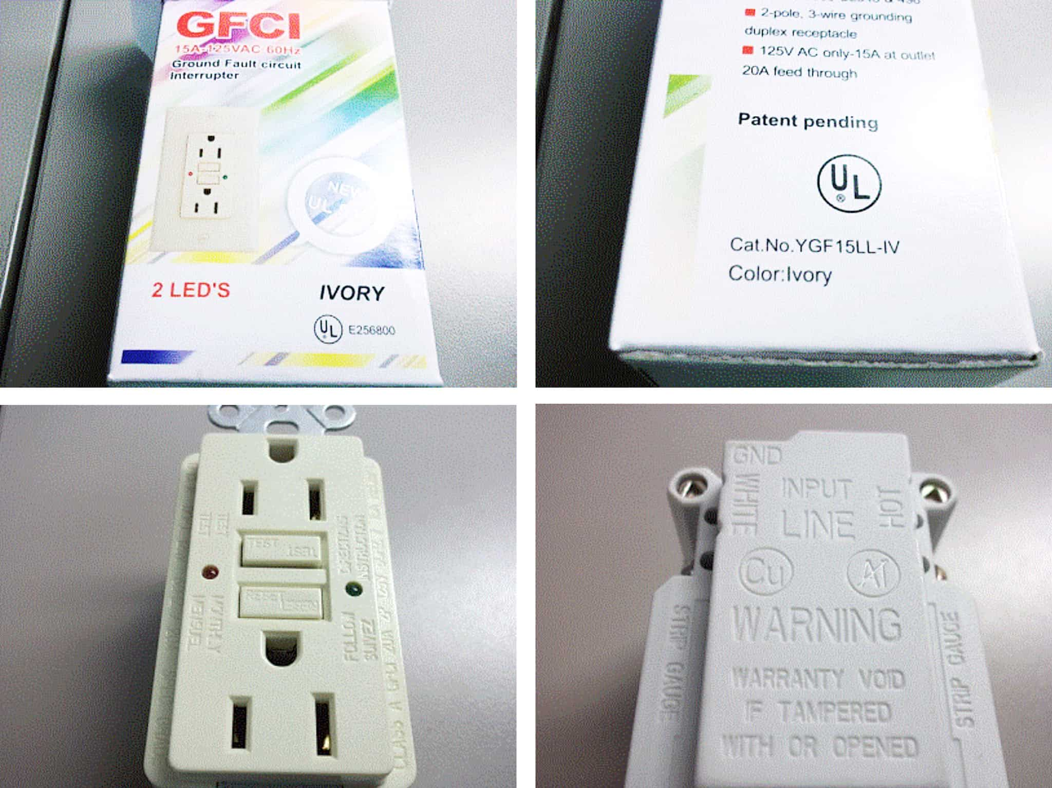 Ground Fault Circuit Interrupters Gfci Cau2 China Ground Fault