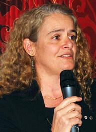 Julie Payette, ex-astronaute et directrice de l'exploitation du Centre des sciences de Montréal.
