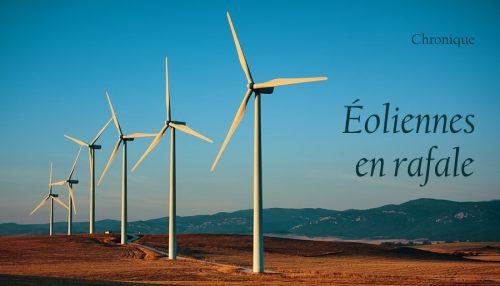 Éoliennes en rafale
