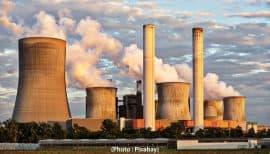 électricité au charbon