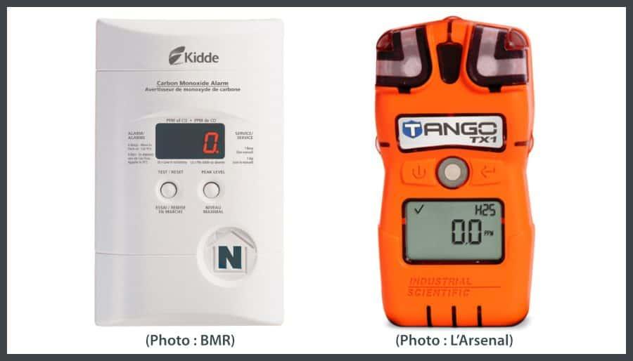 détecteurs de monoxyde de carbone