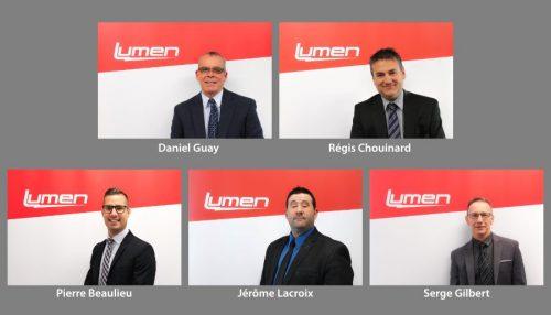 nouveaux directeurs chez Lumen