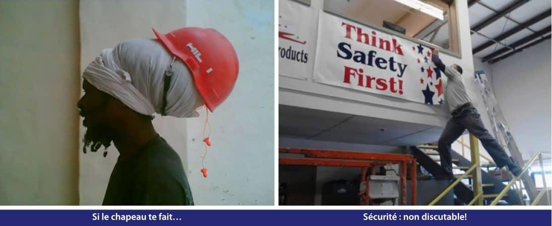 Si le chapeau te fait… Sécurité : non discutable!