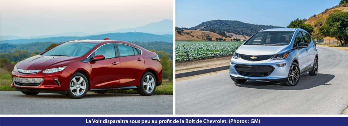 Chevrolet Volt et BoltEV