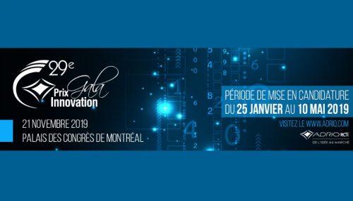 Prix Innovation ADRIQ