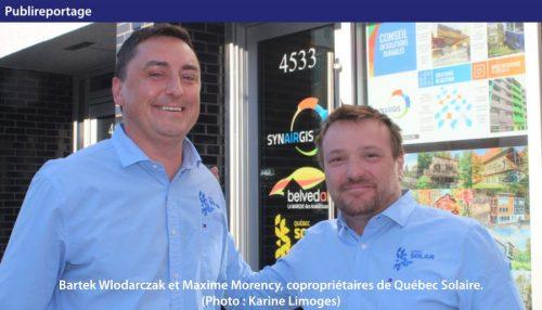 coproprietaires de Québec Solaire