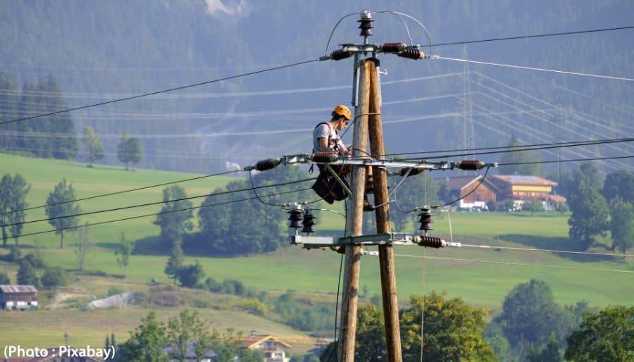 monteurs de ligne