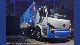 premier camion électrique Lion8