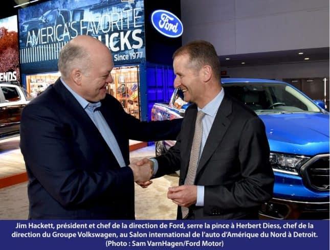 alliance Ford et Volkswagen