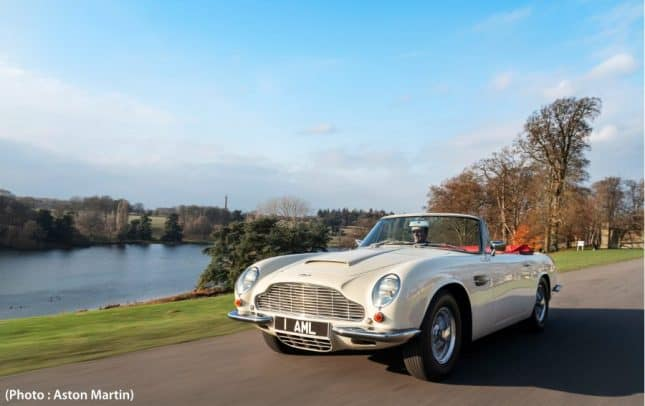 classique Aston Martin