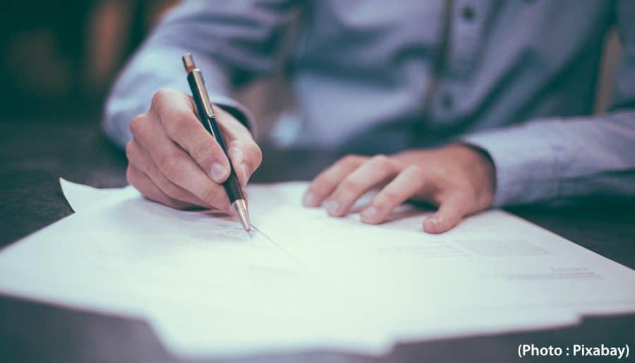 commerce itinérant contrat