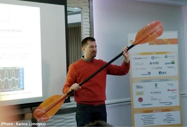 démonstration kayak