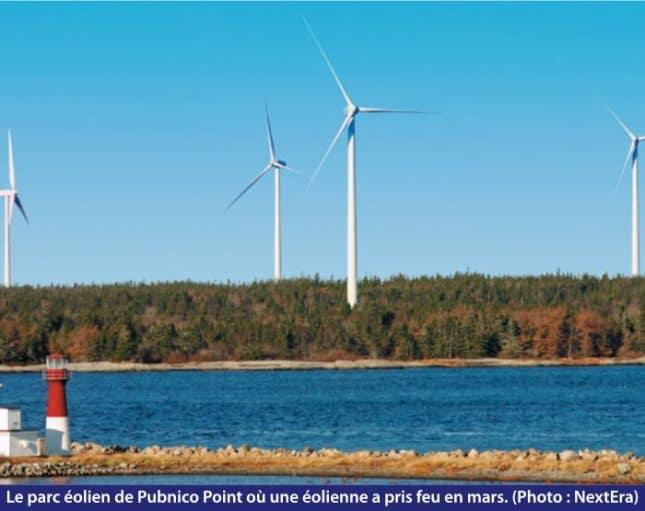 parc éolien Pubnico