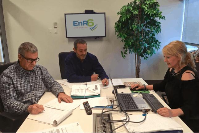 EnR6 en préparation