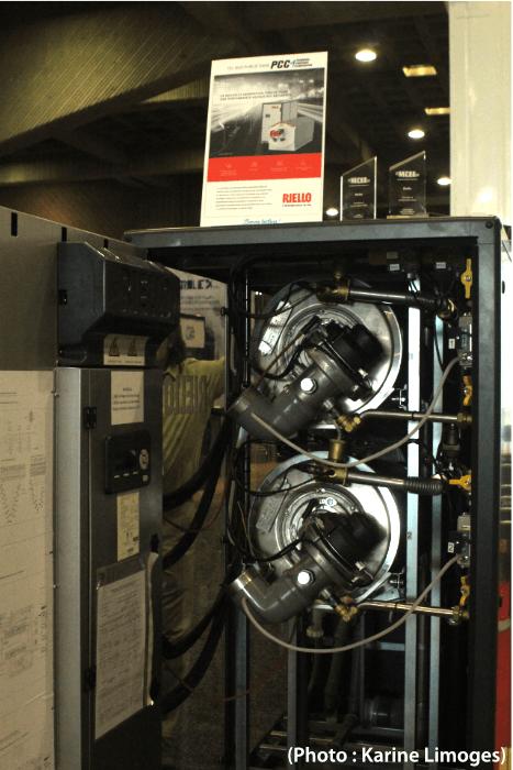 Grande gagnante - la chaudière à condensation à rendement élevé Array de Riello