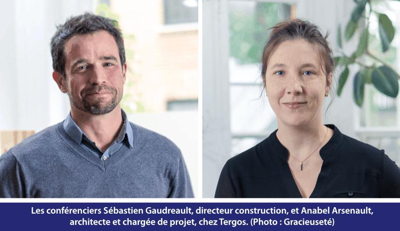 Sébastien Gaudreault et Anabel Arsenault