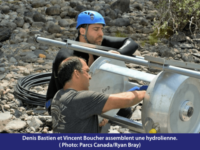 Denis Bastien et Vincent Boucher