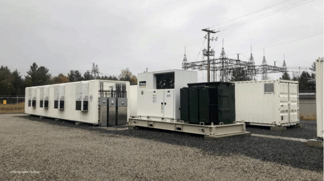 batterie 1MW de Technologies Esstalion