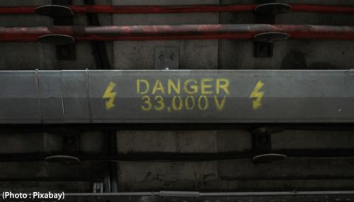 danger électrocution