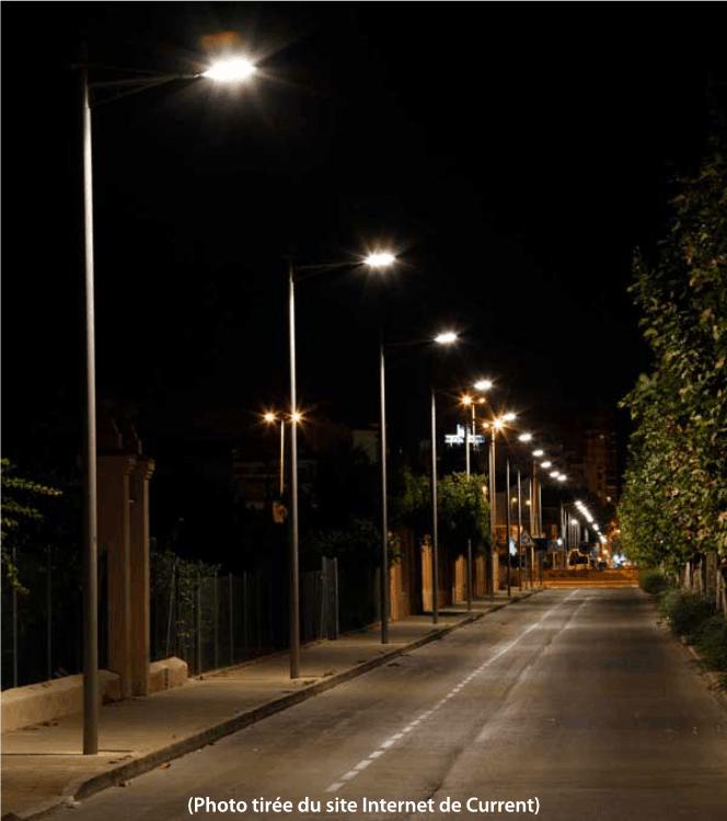 éclairage extérieur Current