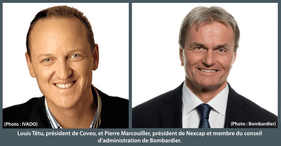 Louis Têtu et Pierre Marcouiller