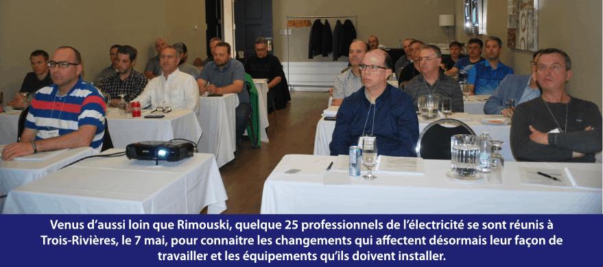 Formation de Trois-Rivières