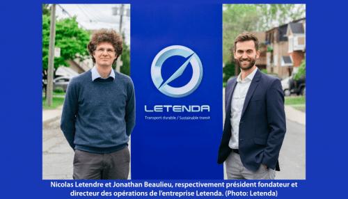 L'entreprise québecoise Letenda