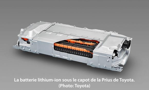 La batterie lithium-ion