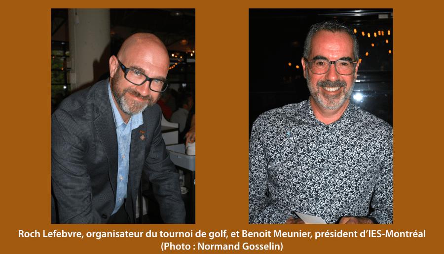 Roch Lefebvre et Benoit Meunier
