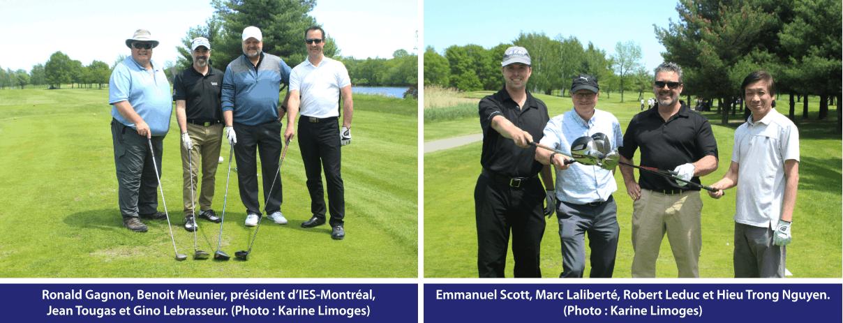 Tournoi de golf IES 2019 - quatuor 1 et 3