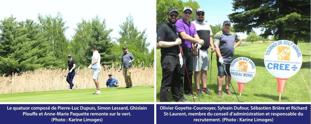 Tournoi de golf IES 2019 - quatuor 4 et 5
