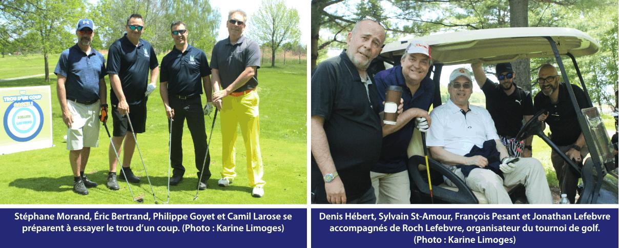 Tournoi de golf IES 2019 - quatuor 7 et 8
