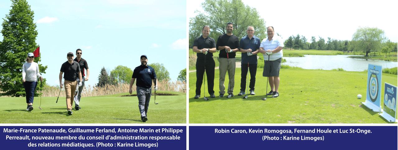 Tournoi de golf IES 2019 - quatuor 9 et 11