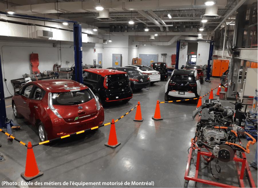 réparation de véhicules électriques