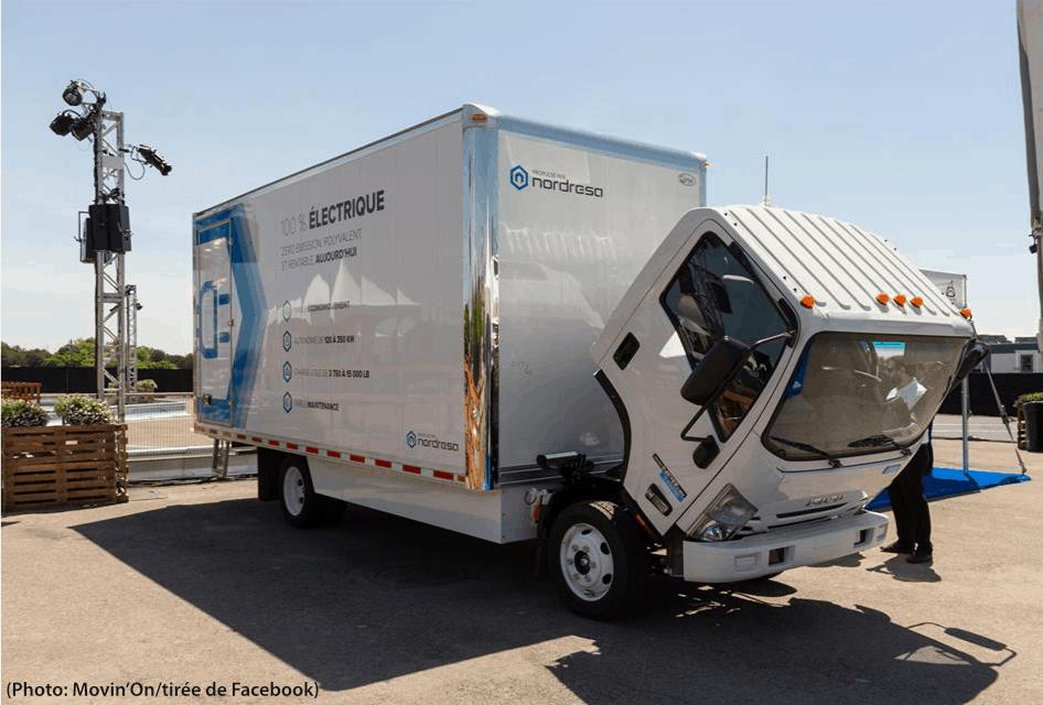 camion électrique Nordresa