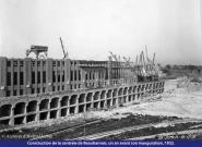 Construction de la centrale de Beauharnois phase-1
