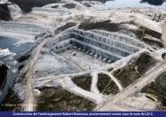 Construction de l'aménagement Robert-Bourassa