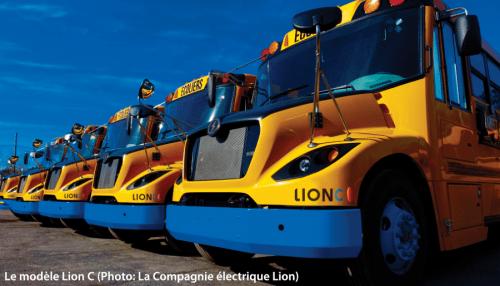 Autobus électrique Lion C