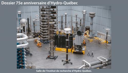 Salle de l'Institut de recherche d'Hydro-Québec