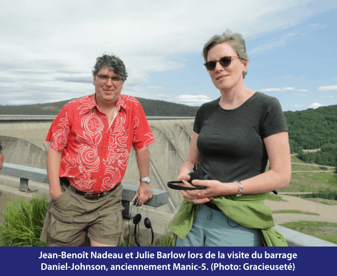 Jean-Benoît Nadeau et Julie Barlow