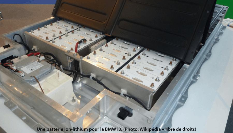 batterie ion-lithium pour la BMW i3