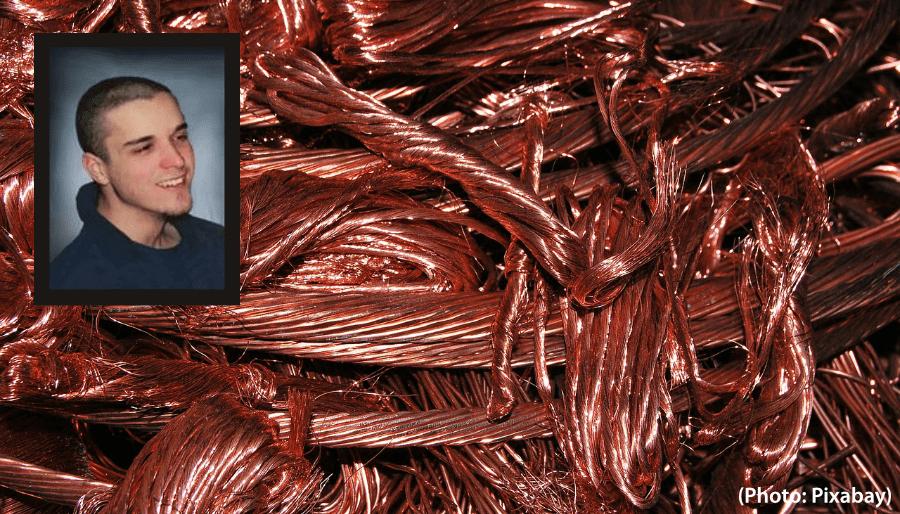 fils de cuivre