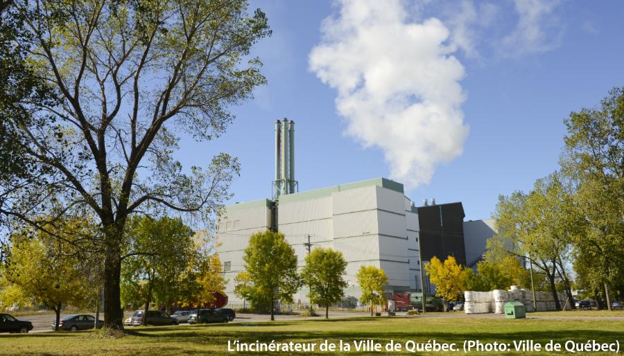 L'incinérateur de la Ville de Québec