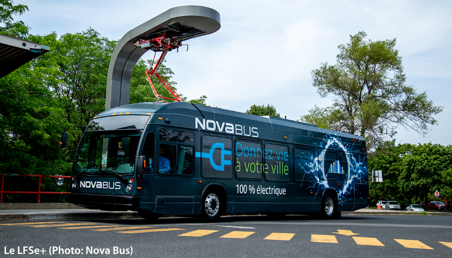 Le LFSe+de Nova Bus
