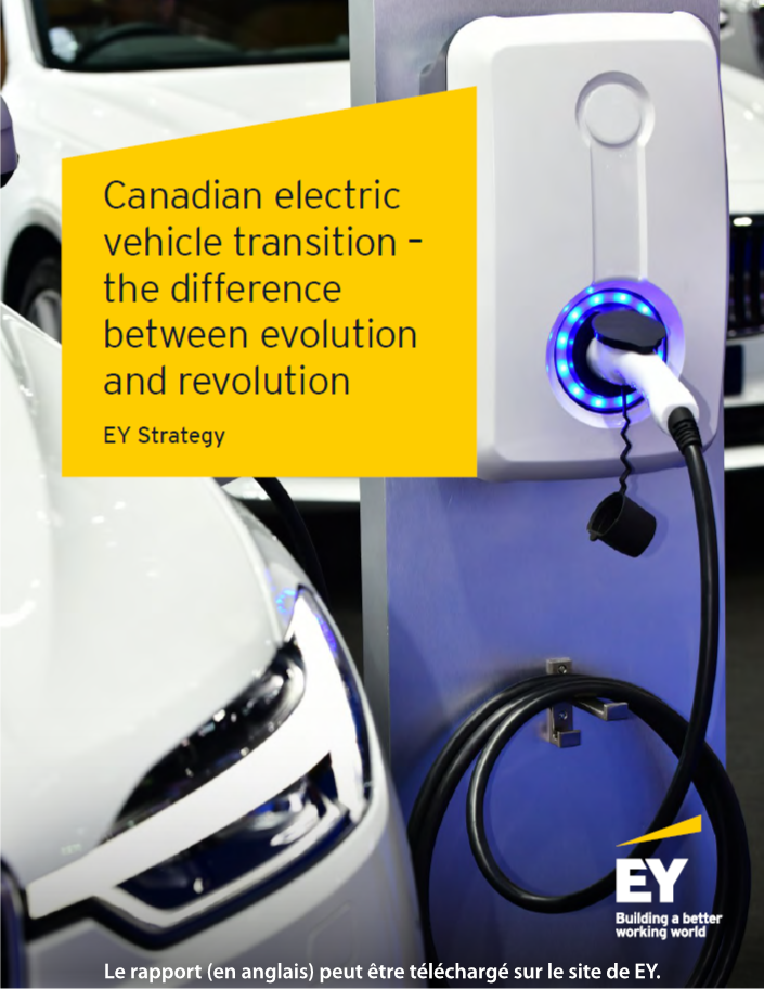 Canadian Eelectric Vehicule Transition Report - cover