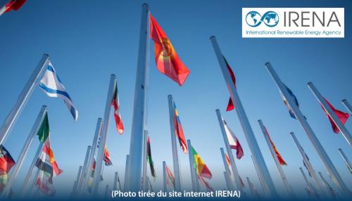 drapeaux IRENA
