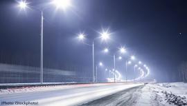 Éclairage de routes
