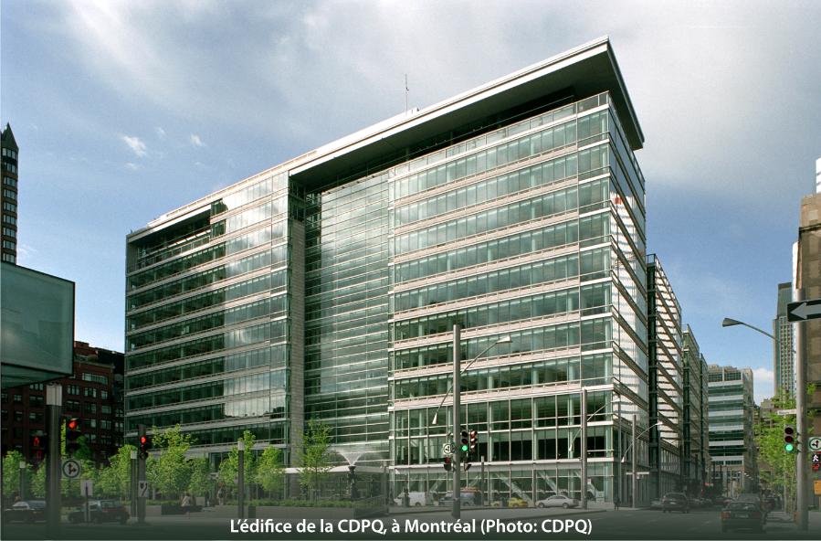 L'édifice de la CDPQ