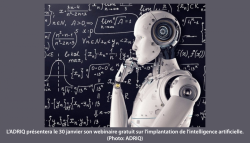 webinaire sur l'intelligence artificielle
