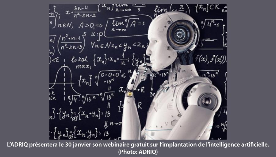 webinaire sur l'intelligence artificielle